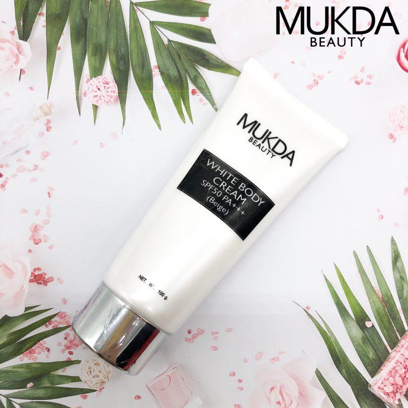 MUKDA WHITE BODY CREAM