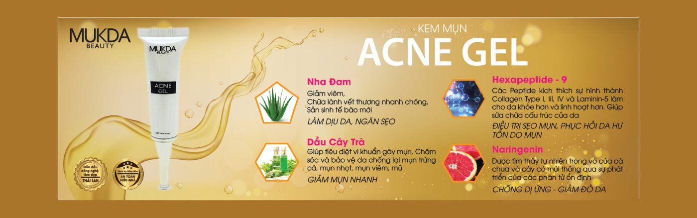 Acne Gel Mukda Beauty